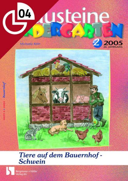 Die Tiere auf dem Bauernhof - Schwein