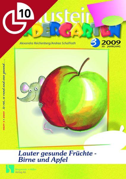 Lauter gesunde Früchte - Birne und Apfel
