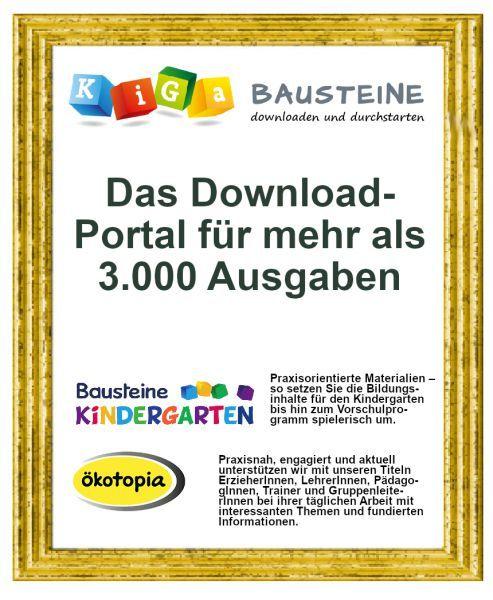 Mitgliedschaft bei KiGa-Bausteine (Einzelnutzer / 750 Credits)