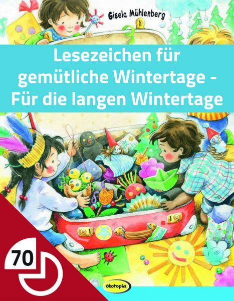 Lesezeichen für gemütliche Wintertage - Für die langen Wintertage
