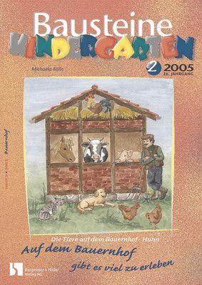 Die Tiere auf dem Bauernhof - Huhn