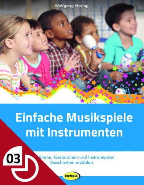 Einfache Musikspiele mit Instrumenten