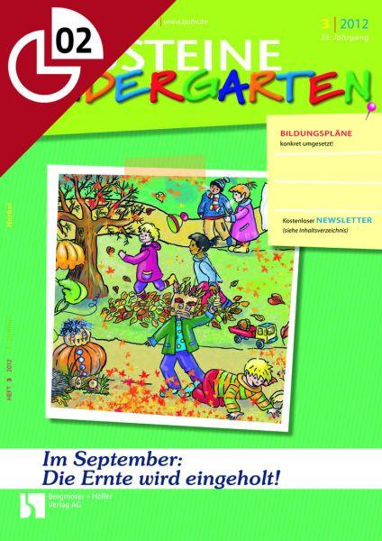 Im September: Die Ernte wird eingeholt!