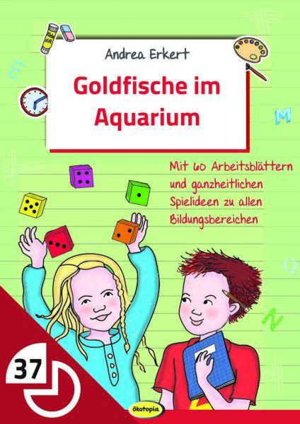 Goldfische im Aquarium