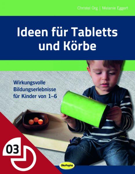 Ideen für Tabletts und Körbe