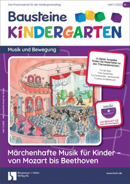 Märchenhafte Musik für Kinder - von Mozart bis Beethoven