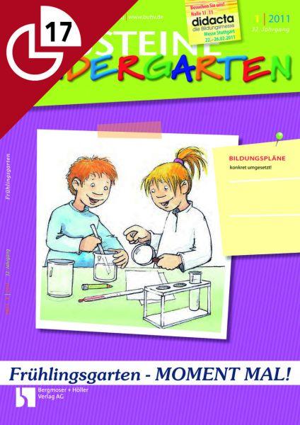 Frühlingsgarten - MOMENT MAL! Kleinere Aktionen für den Kindergartenalltag