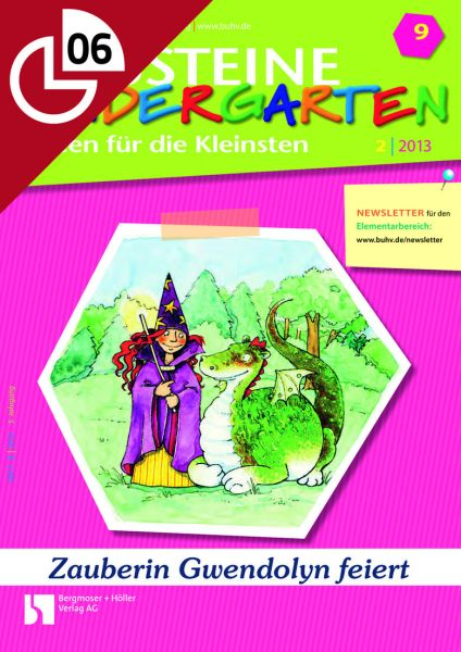 Zauberin Gwendolyn feiert