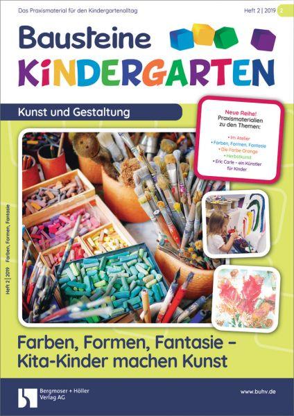 Farben, Formen, Fantasie - Kita-Kinder machen Kunst