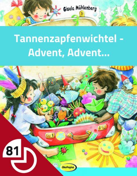 Tannenzapfenwichtel - Basteln für den Advent
