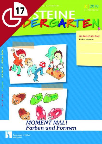 Farben und Formen: MOMENT MAL! - Kleinere Aktionen für den Kindergartenalltag