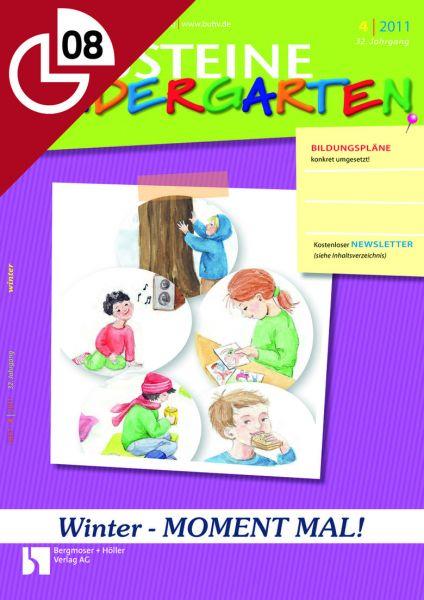 Winter - MOMENT MAL! - Kleinere Aktionen für den Kindergartenalltag