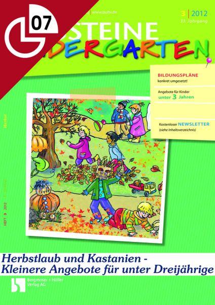 Herbstlaub und Kastanien: Kleinere Angebote für unter Dreijährige