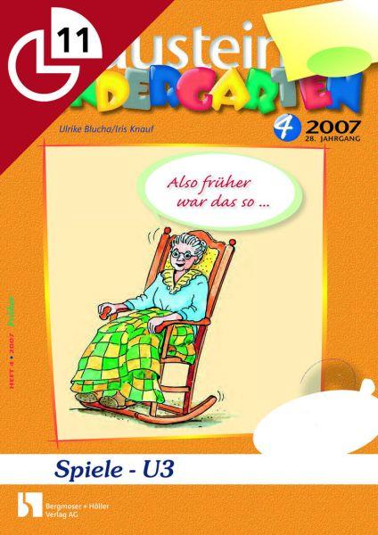 Spiele - U3 Kleinere Aktionen und Angebote für Kinder unter drei Jahren