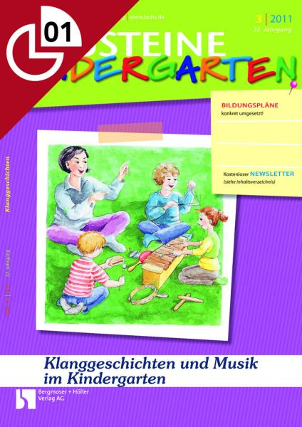 Klanggeschichten und Musik im Kindergarten
