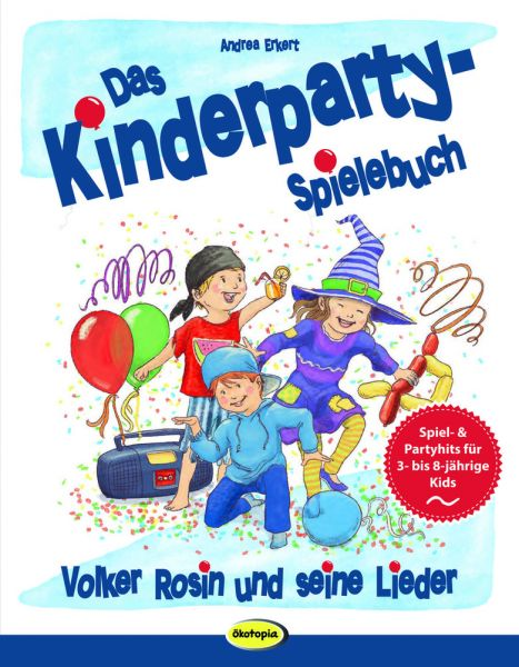 Das Kinderparty-Spielebuch